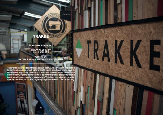 Trakke, Wildland Mag Issue #03